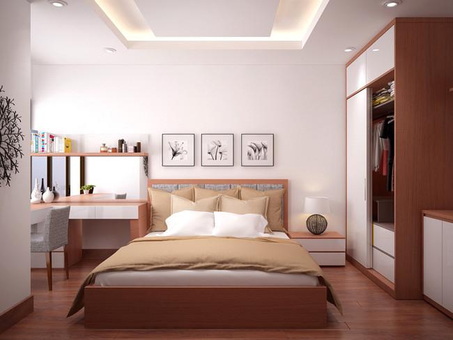 bố trí giường ngủ theo phong thủy