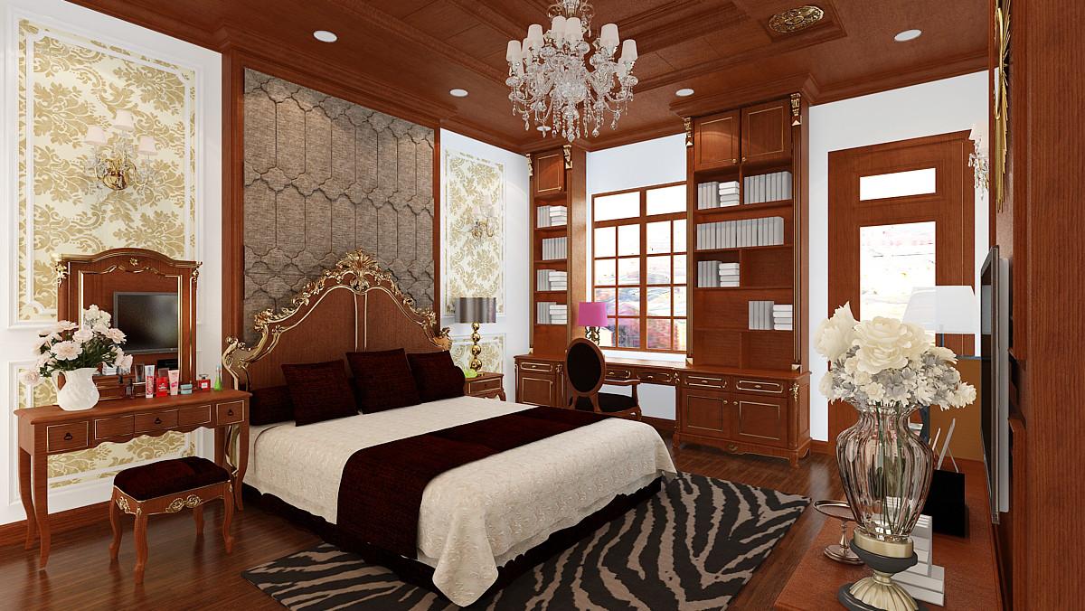 phong cách phòng ngủ tân cổ điển